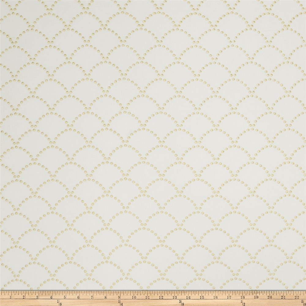Jaclyn Smith 02607 Embroidered Linen Lemon Zest