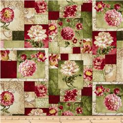 Hope's Promise Floral Patchwork Cream/Green/Pink