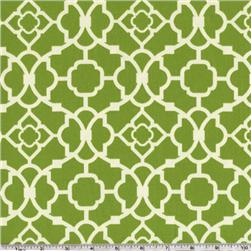 Waverly Lovely Lattice Sateen Jungle Fabric