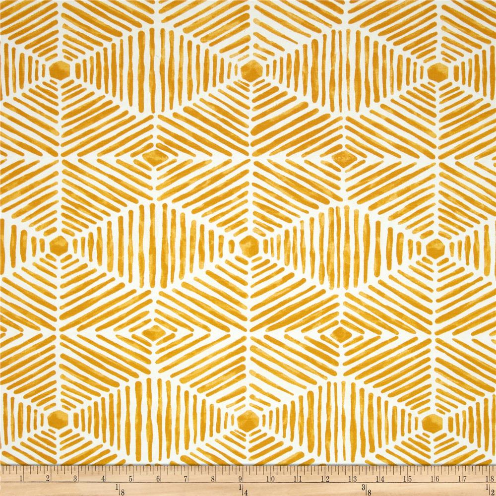 Premier Prints Indoor/Outdoor Heni Citrus Yellow