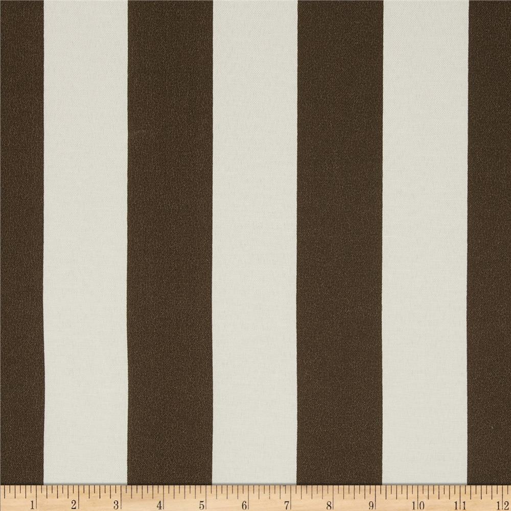 Premier Prints Indoor/Outdoor Premier Stripe Bay Brown