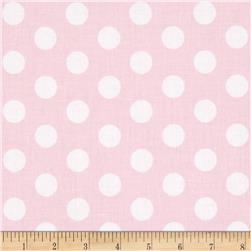 Riley Blake Wiltshire Daisy Dot Pink