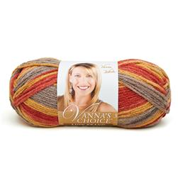 Lion Brand Vanna's Choice Yarn (203) Autumn Print