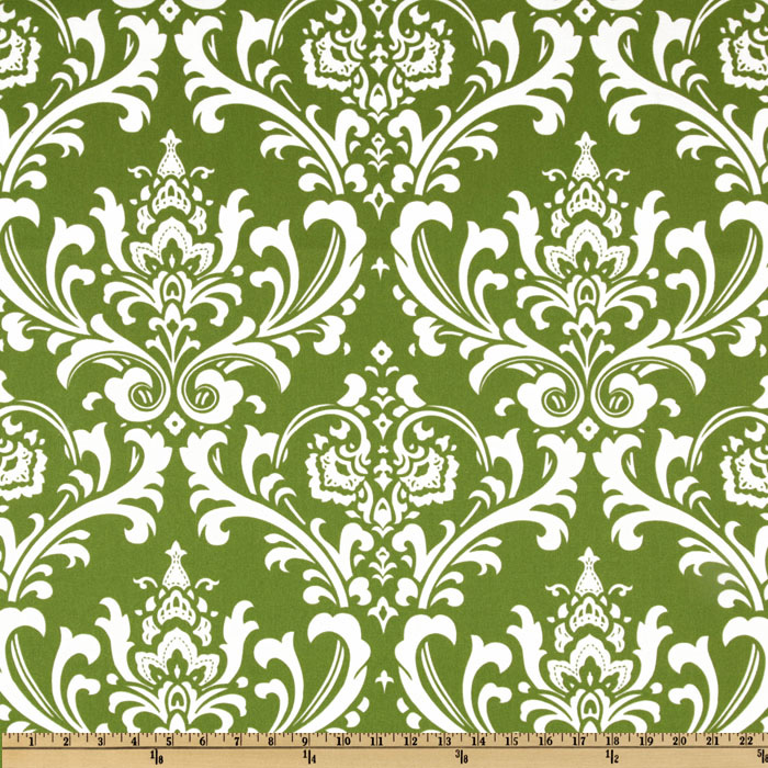 Premier Prints Indoor/Outdoor Ozborne Greenage Fabric