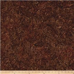 Timeless Treasures Tonga Batik Autumn Falling Leavesl