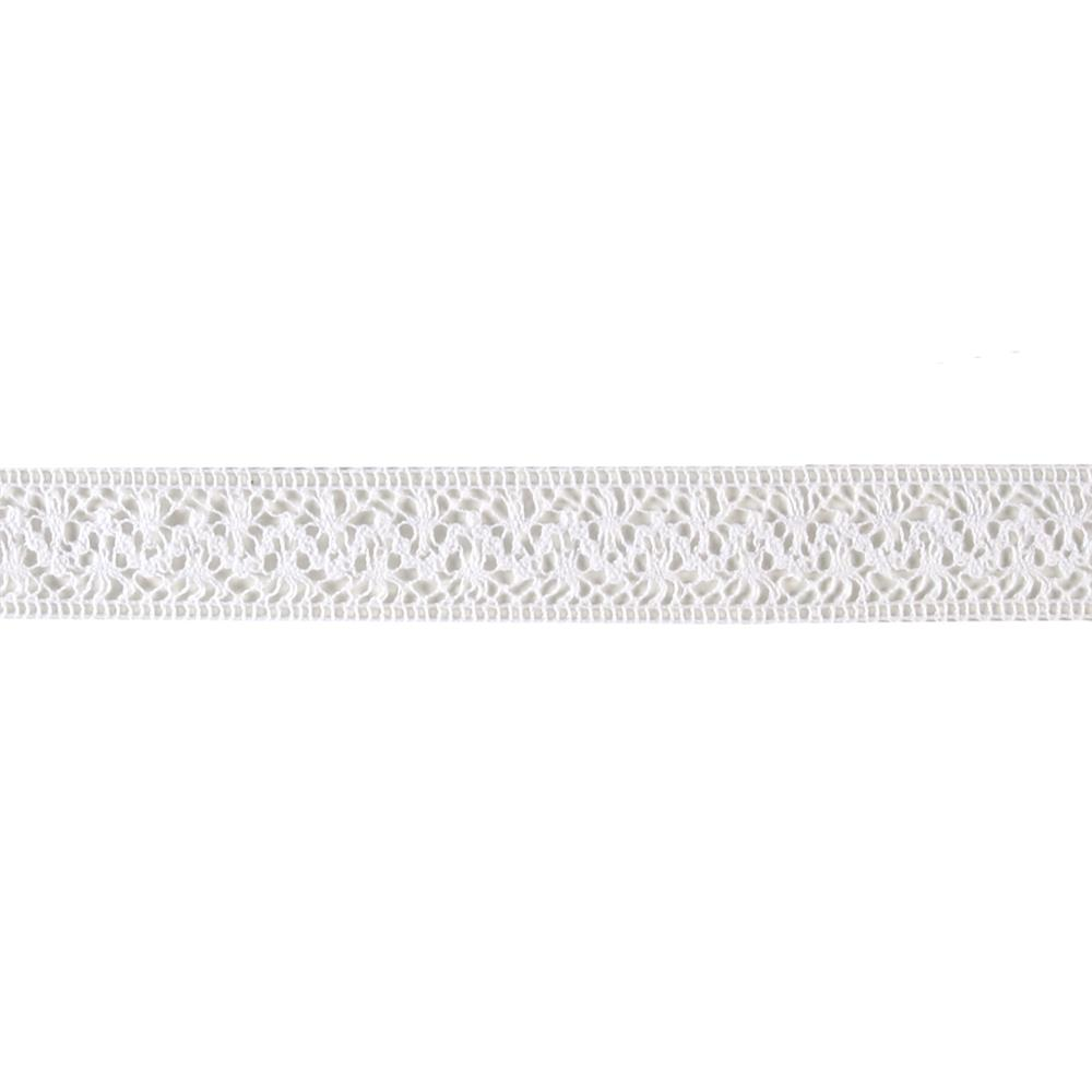 "1 1/2"" Crochet Trim White"