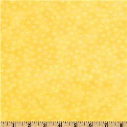 Moda Marble Dots (#3405-56) Lemon Fabric