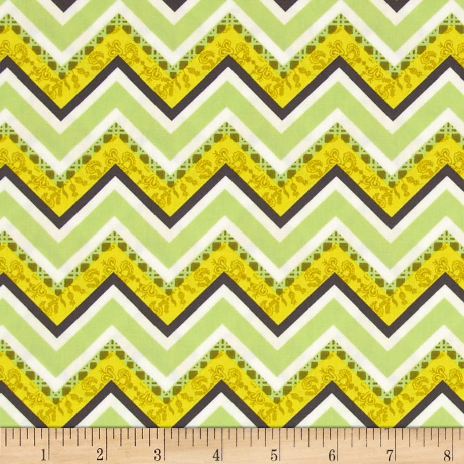 Art Gallery Lilly Belle Vintage Fence Lime