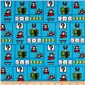 Nintendo Super Mario Gameboard Blue