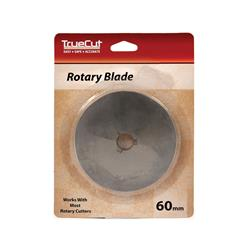 TrueCut Rotary Cutter Replacement Blade 60mm 1/Pkg