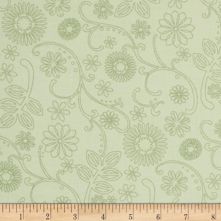 "110"" Wide Quilt Back Signature Sage"