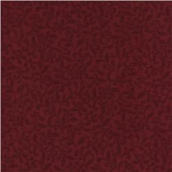 Timeless Treasures Americana Flannel Sprigs Red Fabric