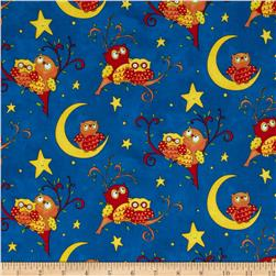 Rhyme Time Owls Midnight
