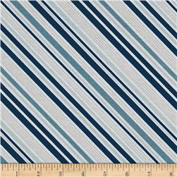 Riley Blake Game Day Stripe Navy