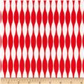 Riley Blake Mod Studio Stripe Red