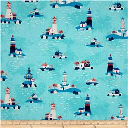 Kaufman Seaside Treasures Lighthouses Pacific