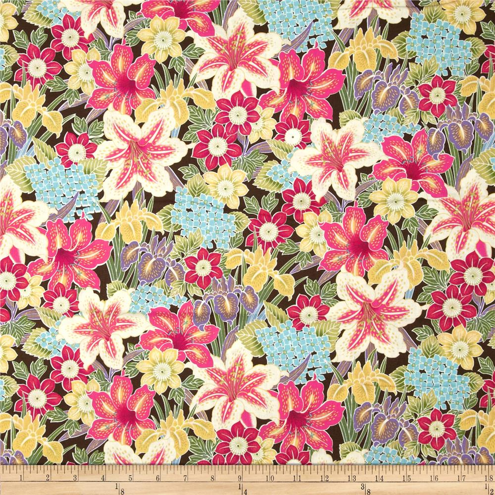 Tropical Bloom Tropical Collage Bright