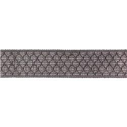 Decorative Trim 2'' Braid Grey
