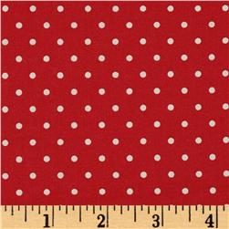 Moda Spring -A-Ling Polka Dot Strawberry