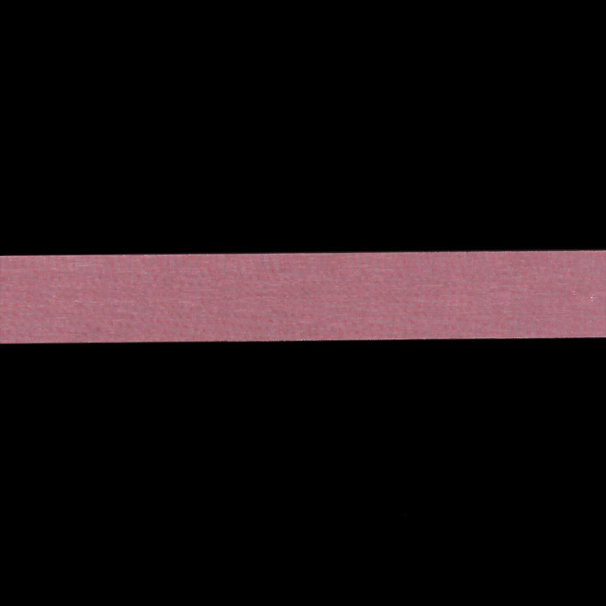1'' Sheer Organza Ribbon Pink