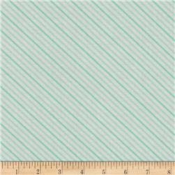Moda Hello Darling Summer Stripe Aqua