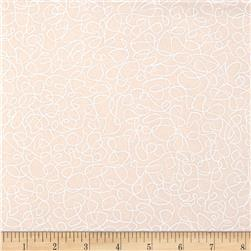 Whisper Prints Squiggles Ivory Fabric