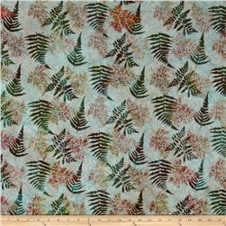 Bali Batiks Handpaints Fern Aquarius