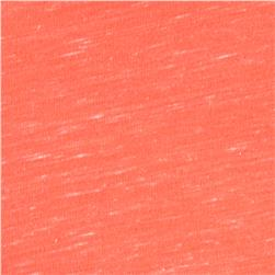 Cotton/Polyester Jersey Knit Coral Neon