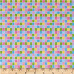 Lollipops Flannel Squares Multi