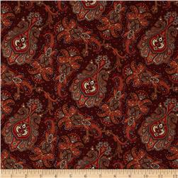 Penny Rose Meadow Paisley Brown
