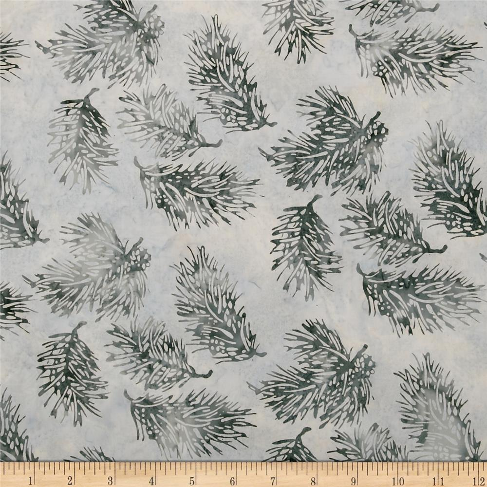 Bali Batiks Pine Leaves December