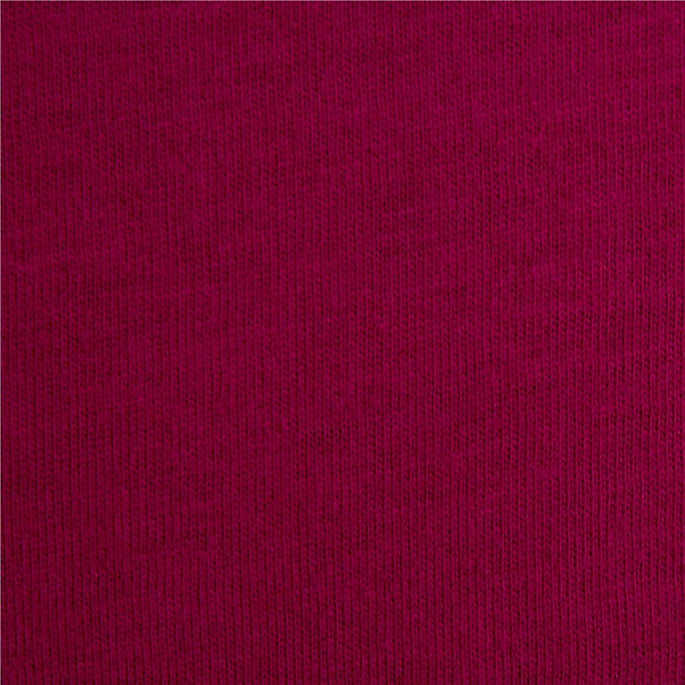 Telio Organic Cotton Jersey Knit Magenta Fabric