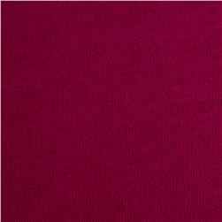 Organic Cotton Jersey Knit Magenta Fabric