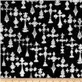 Loralie Designs Church Ladies Bias Cross Black