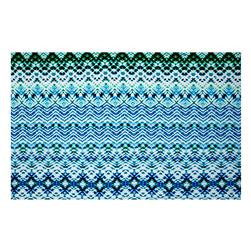ITY Stretch Knit Tie-Dye White/Blue/Green