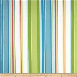 Dwell Studio Indoor/Outdoor Cabana Stripe Sky Fabric