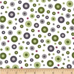 Monterey Dots Olive Green