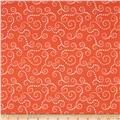 Riley Blake Oh Boy! Swirls Orange