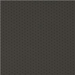 Polka Vinyl Grey Fabric