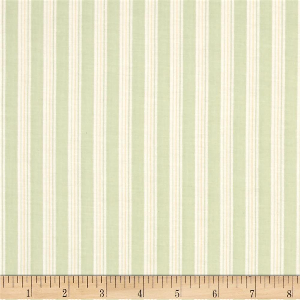 Sage Deck Chair Stripe