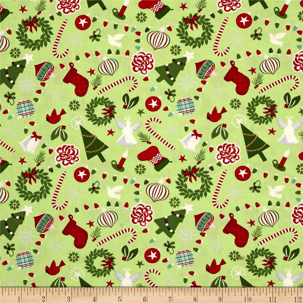 Moda Jingle Rejoice Cedar