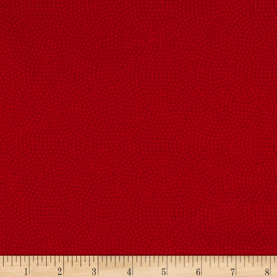 Timeless Treasures Flannel Spin Dot Cherry