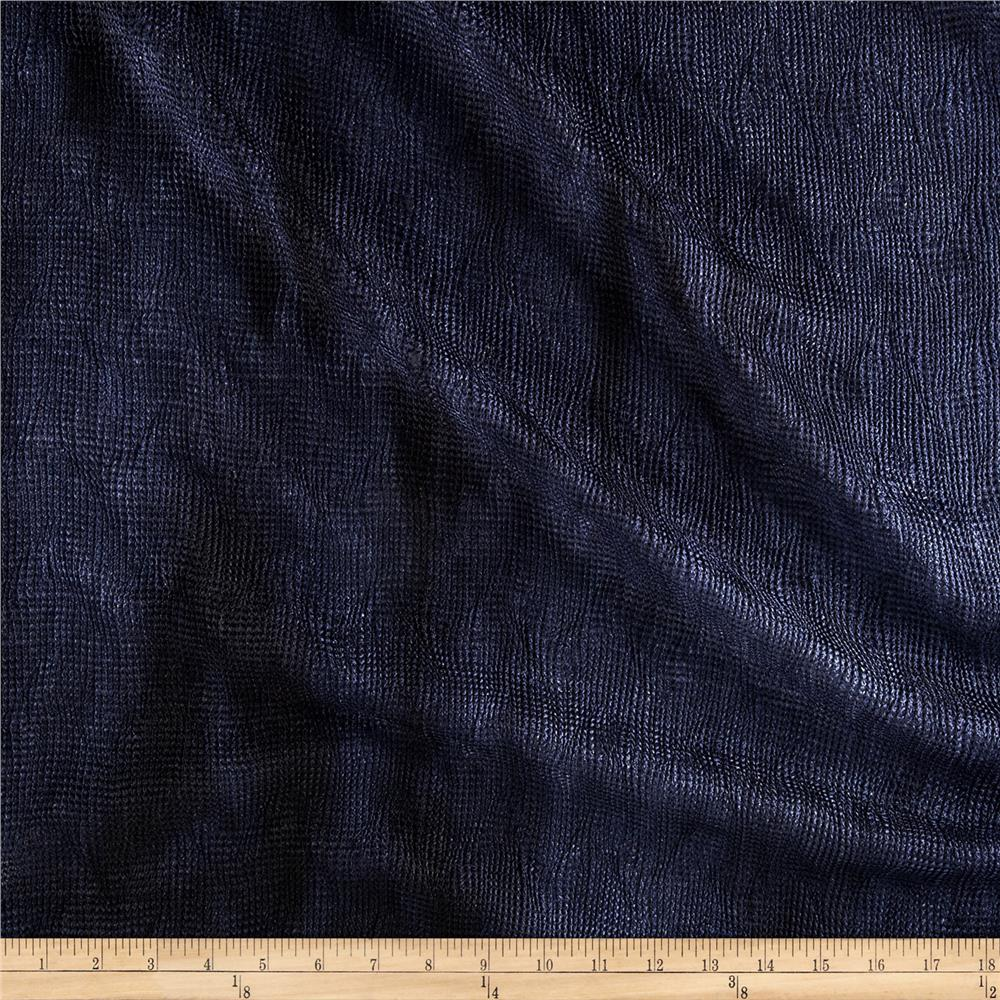 Bombay Crush Knit Fabric Blue