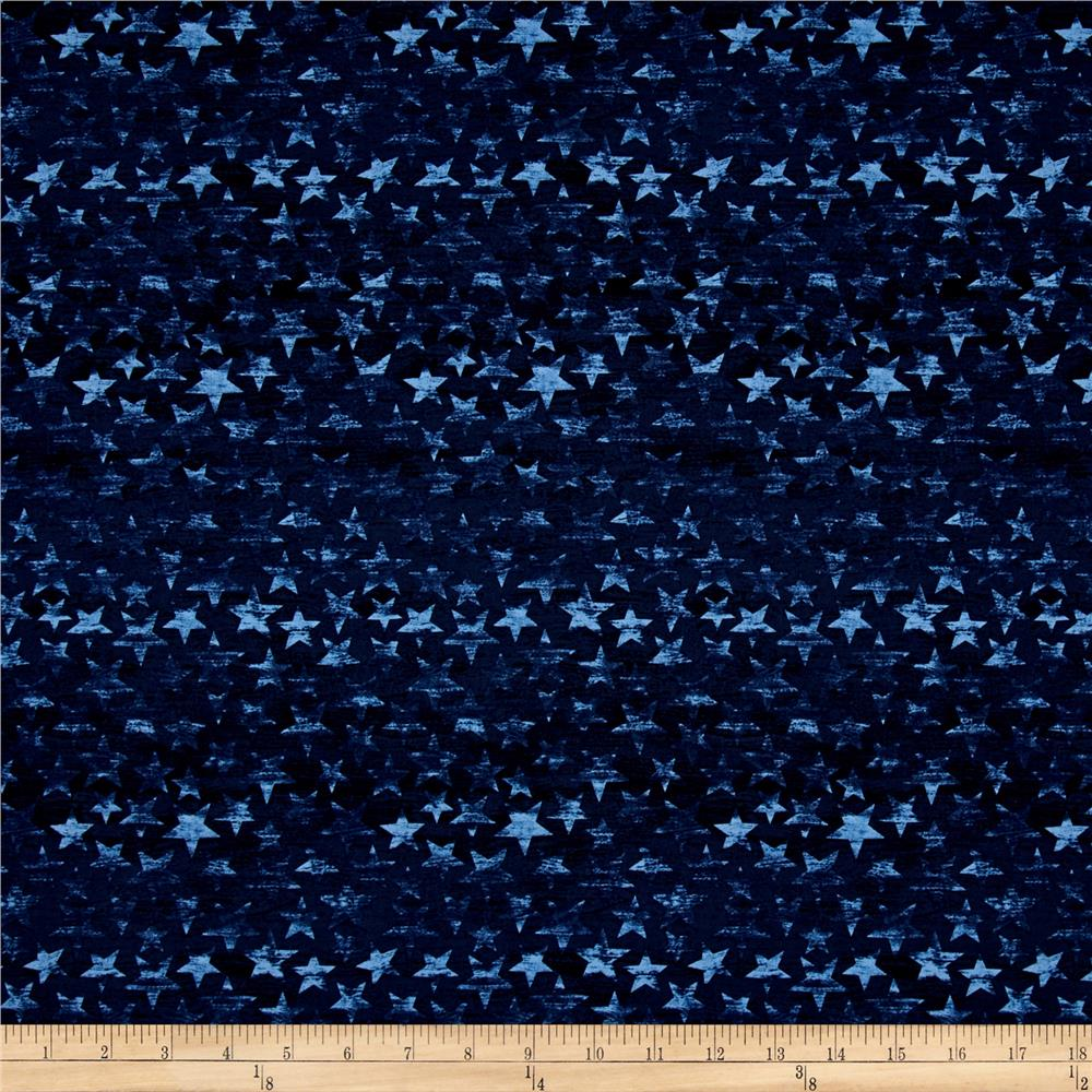 American Homecoming Tonal Stars Denim