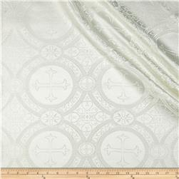 Clergy Brocade Cream Fabric