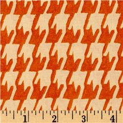 Michael Miller Garden Wall Porcelain Tile Creamsicle Fabric