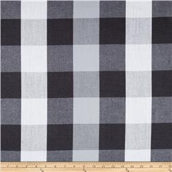 Peppered Cotton Large Buffalo Plaid Gravel