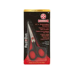 Red Dot Embroidery Scissors 4.25