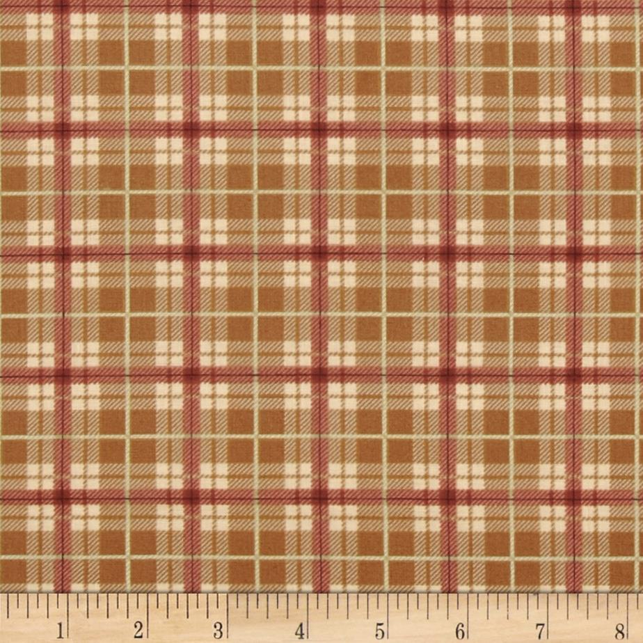 Out of the Den Plaid Tan