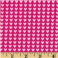 Riley Blake Sweet Home Hearts Pink